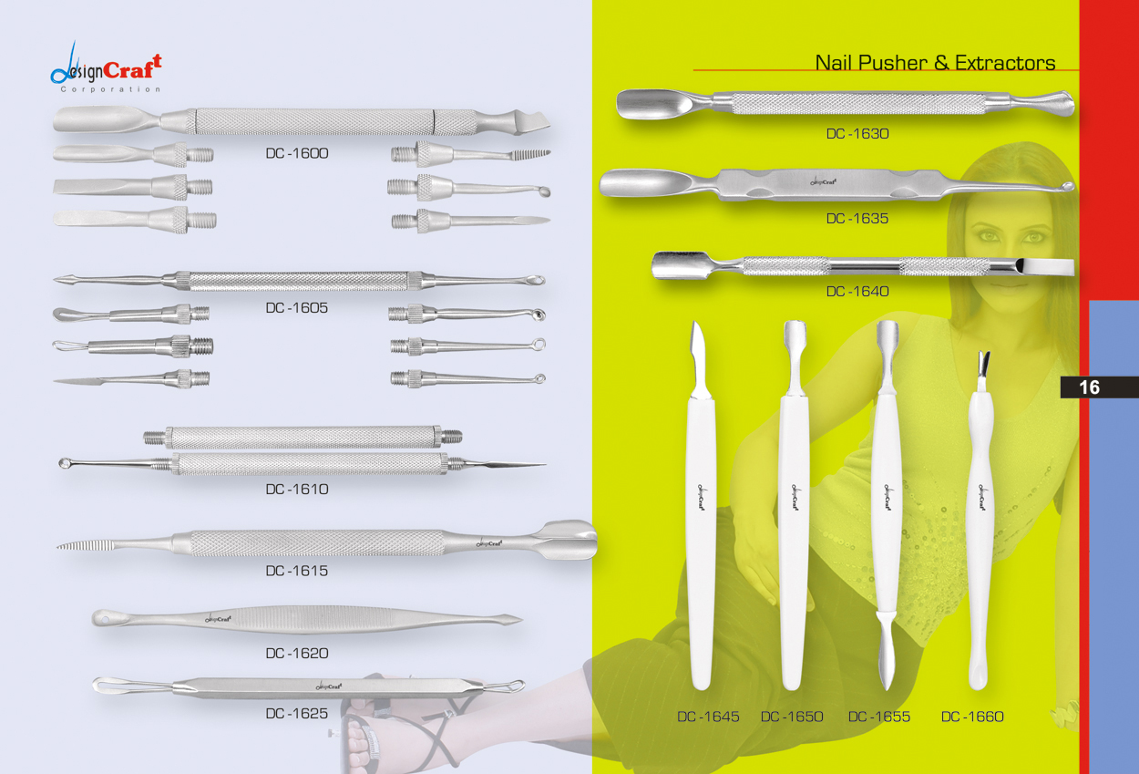 Nail Pusher & Extractors